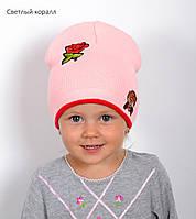 Детская шапка на весну для девочки, фото 1