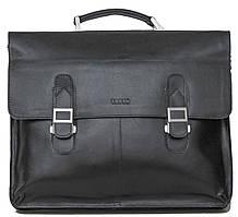 Мужской кожаный портфель VATTO Mk24Каz1 черный