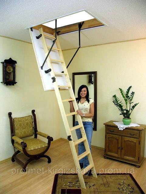 Чердачные лестницы OMAN Termo S Long