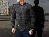"Мужская осеняя куртка Pobedov Jacket ""Progress"" Black (S, M, L, XL размеры)"