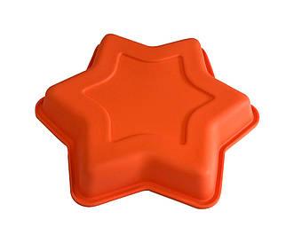 Форма силиконовая для выпечки Звезда 22 см