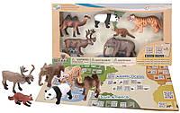 Обучающий игровой набор с QR-картой, Животные Азии, Wenno