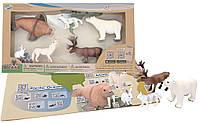 Обучающий игровой набор с QR-картой, Животные Арктики, Wenno