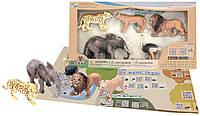 Обучающий игровой набор с QR-картой, Животные Африки, Wenno