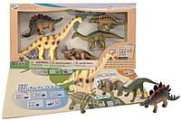 Обучающий игровой набор с QR-картой, Травоядные Динозавры, Wenno