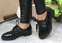 Женские туфли лаковые