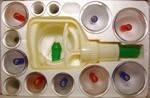 Комплект из 12шт— (массажные вакуумные банки), фото 1