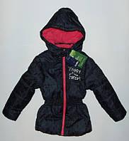 Куртка для девочки Lupilu синяя р.86, 92, 98, 104, 110, 116