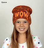 Детская шапка осень/зима для мальчиков и девочек , фото 4