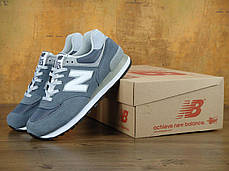 Кроссовки мужские Нью Беленс New Balance 574 Grey Classic. ТОП Реплика ААА класса., фото 2