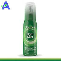 Гель - смазка с охлаждающим эффектом и запахом ментола Dolphi Light Mint 100мл