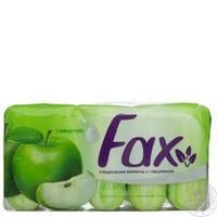 Мыло FAX яблоко 5шт. в ассортименте