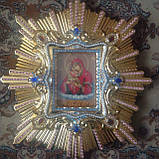 Спускная икона Пресвятой Богородицы средняя (дерево, позолота), фото 2