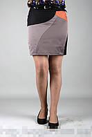 """Короткая юбка больших размеров """"Виола"""""""