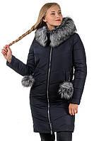 """Женское зимнее пальто """"Виктория""""  размеры 48- 54 Новинка!"""