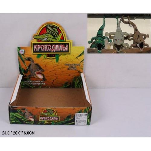 """Животное резиновое """"Крокодил"""" 7206"""