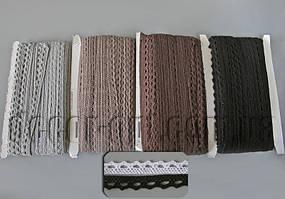 Кружево макраме 1,3 см/50ярд 1004