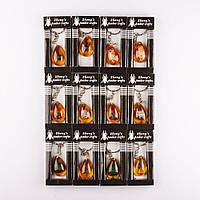 """Брелок """"Коллекция №2"""" насекомые в янтаре (имит. акрил) ассорти цена за 1 шт."""