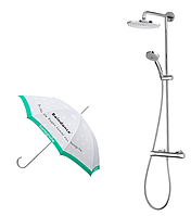 Душевая система Hansgrohe Showerpipe Verso 240 27205000 с термостатом