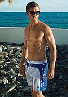 Шорты пляжные David Man D6 4951 48(M) Синий-Белый