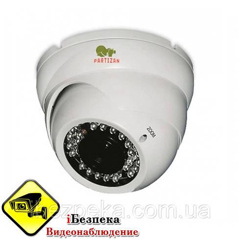 Купольная камера Partizan CDM-VF37H-IR
