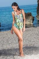 Сплошной купальник Amarea 109-16 46 Зеленый