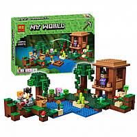 Конструктор Bela Minecraft 10622 Хижина ведьмы 508дет