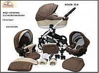 Универсальная детская коляска  2в1 MIKRUS CRUISER NEW 11B