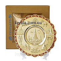 Декоративая тарелка Храмы Тайланда