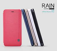 """Кожаный чехол (книжка) Nillkin Rain Series для Apple iPhone 6/6s plus (5.5"""") (+ пленка)"""