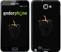 """Чехол на Samsung Galaxy Note i9220 Черная клубника """"3585u-316-716"""""""
