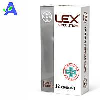 Презервативы прочные Lex Super Strong 12 штук в упаковке