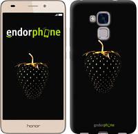 """Чехол на Huawei Honor 5C Черная клубника """"3585c-356-716"""""""