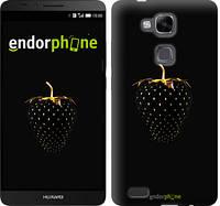 """Чехол на Huawei Ascend Mate 7 Черная клубника """"3585u-140-716"""""""