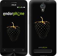 """Чехол на Asus ZenFone C ZC451CG Черная клубника """"3585u-181-716"""""""