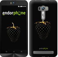 "Чехол на Asus ZenFone Selfie ZD551KL Черная клубника ""3585c-116-716"""