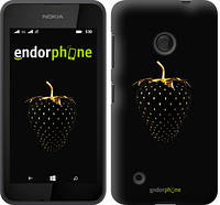 "Чехол на Nokia Lumia 530 Черная клубника ""3585u-205-716"""
