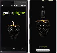 "Чехол на Nokia Lumia 830 Черная клубника ""3585u-329-716"""