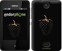 """Чехол на Nokia Asha 501 Черная клубника """"3585u-209-716"""""""