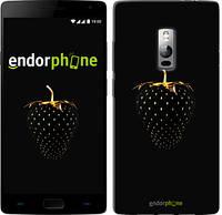 """Чехол на OnePlus 2 Черная клубника """"3585u-386-716"""""""