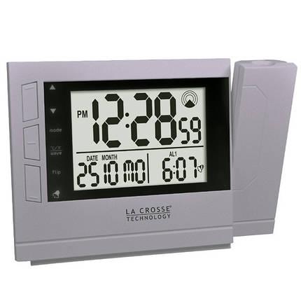 Проекционные часы La Crosse WT519-SIL, фото 2