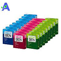 24 упаковки презервативов MisterBen по 3 штуки в упаковке