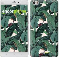 """Чехол на Xiaomi Mi Note Банановые листья """"3078u-102-817"""""""