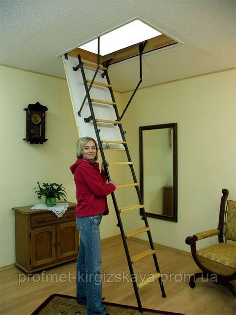 Чердачные лестницы OMAN Mini Termo