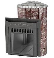Печь Ферингер Ламель Оптима Россо Леванте металл (открытая каменка)