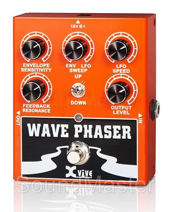 Педаль эффектов XVIVE W1 WAVE PHASER - SoundMaster в Киеве