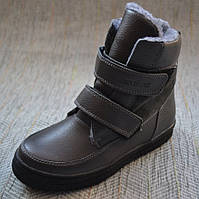 Теплые ботиночки на липучках 11shoes размер 30 31