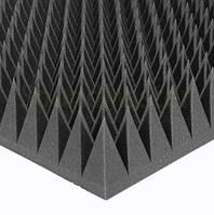 Настенные панели Ecosound Акустический поролон120мм Цвет черный графит 1мх1м