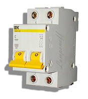Автоматический выключатель ВА47-29М 2P 02A 4.5кА характеристика C ИЭК, фото 1