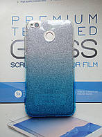 Чехол силиконовый для Xiaomi Redmi 4X с блёстками